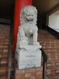 Image for Lions, Chinese Community Building—Georgetown, Penang, Malaysia