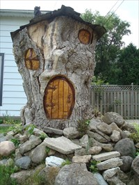 .. the hobbit house