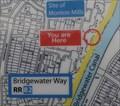 "Image for Monton Mills ""You Are Here"" Map on Bridgewater Way - Monton, UK"