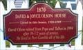 Image for 'David & Joyce Olson House' - Port Gamble, WA