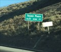 Image for Tejon Pass (Southbound) ~ Elevation 4,144