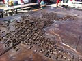 Image for LARGEST - Bronze Model of a Roman City - Augst, BL, Switzerland