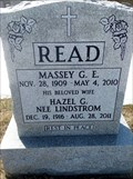 Image for 100 - Massey G. E. Read - St John's Anglican Cemetery, South March, Ontario