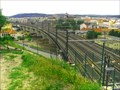 Image for Railroad Bridge from Wilson Railway Station to Vitkov Hill, Prague, Czech Republic.