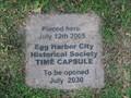 Image for Egg Harbor City Historical Society Time Capsule - NJ