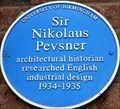 Image for Sir Nikolaus Pevsner - The University of Birmingham - Edgbaston, Birmingham, U.K.