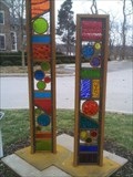 Image for GLASS TOTEMS 9 AND 10  -  Perrysburg, Ohio
