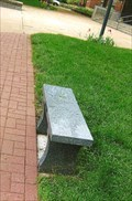 Image for Bench and Brick Sidewalk - Kirkwood, MO