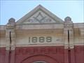 Image for 1889 - Masonic Lodge Hall - Waxahachie, TX