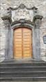 Image for Doorway Catholic parish church of St. Albert - Andernach, Rhineland-Palatinate, Germany