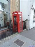 Image for Red Telephone Box - Lea Bridge Road, London, UK