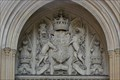 Image for Royal Coat of Arms of the United Kingdom -- Palace of Westminster, Westminster, London, UK