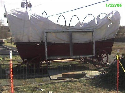 This covered wagon has continued to deteriorate outside Hill High Orchards outside Round Hill, VA, in the Blue Ridge foothills.  This place has the BEST pies anywhere!!!