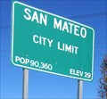 Image for San Mateo, CA - 90360 Pop