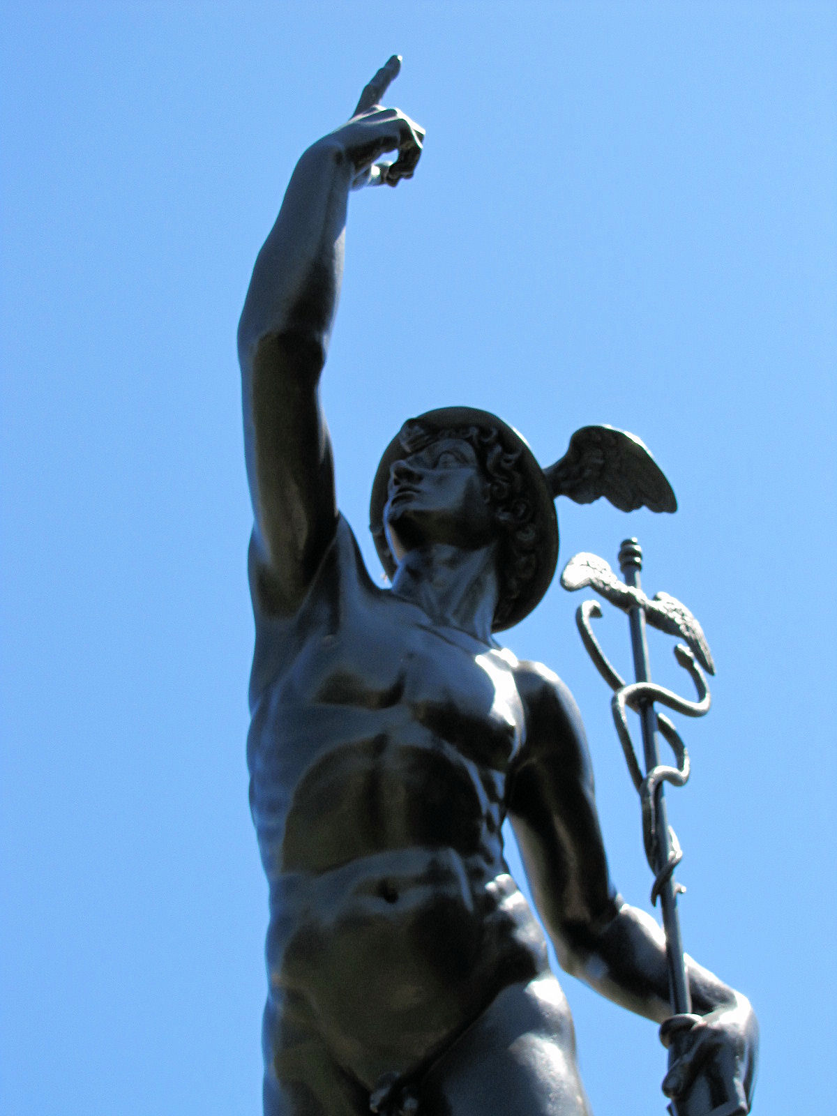 Mercury (Roman god) and Mercury (planet) - Englewood, CO Image