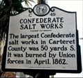 Image for Confederate Salt Works  --- C-49