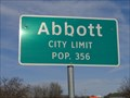 Image for Abbott, TX - Population 356