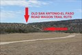 Image for San Antonio-El Paso Road -- Fort Lancaster, SH 290 near Sheffield TX