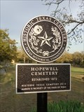 Image for Hopewell Cemetery