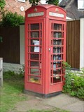 Image for Red Phone Box Book Exchange, Belbroughton, Worcestershire, England