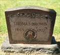 Image for Thomas Brown - St. Barbara Cemetery, Salem, Oregon