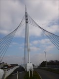 Image for Fabian Way- Suspension Bridge - Swansea, Wales, Great Britain.