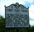Image for First Post Road, Marker C-22