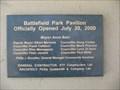 Image for Battlefield Park Pavilion - Hamilton ON (Canada)