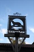 Image for Ottershaw Village Sign, Ottershaw, Surrey, UK.