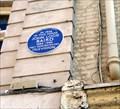 Image for John Logie Baird, Frith St, London, UK
