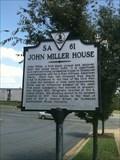 Image for John Miller House - Richmond, VA