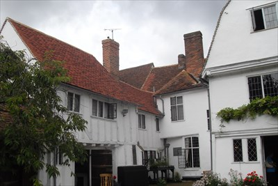 ...rear apect. South-west wing at left.