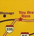 Image for Wamego 54 Miles West Map - Tecumseh, KS