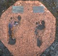 Image for Olympic Torch bearers footprints - Manjimup, Western Australia