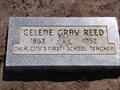Image for FIRST School Teacher  in OKC (Celene Gray Reed) - Fairlawn Cemetery - OKC, OK