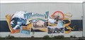 Image for Tsunami! mural - Crescent City, California