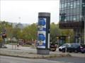 Image for Modern Advertising Column - Charlottenstraße - Stuttgart/BW/Germany