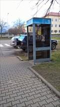 Image for Payphone / Telefonni automat - Školská ctvrt, Frenštát pod Radhoštem, Czech Republic
