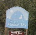 Image for Morro Bay Welcome Sign - Morro Bay, CA