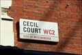 Image for Cecil Court - Charing Cross Road, London, UK