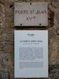Image for Porte Saint Jean - Montreuil Bellay, France