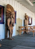 Image for Cigar Store Indian & Miner  -  O'Brien, OR
