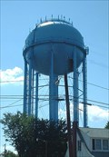 Image for The Big Blue Water Tower in Historic Warrenton, Virginia