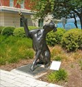 Image for High Four - Dog statue