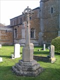 Image for Combined WWI/WWII stone cross, St John the Baptist - Muston, Leicestershire