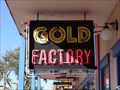 Image for Gold Factory - Neon Sign - Old Town, Kissimmee, FL