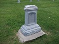 Image for Nancy and Phoeba J. Demoret - Indian Creek Hill Cemetery - rural Montgomery County, IN