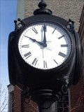 Image for Post Clock - Central and 7th Street - Holland, Michigan