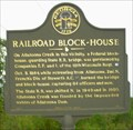 Image for RAILROAD-BLOCK HOUSE GHM 008-7-Bartow Co.,GA