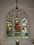 Image for Holy, Holy, Holy Window - All Saints Church, Lolworth, Cambridgeshire, UK